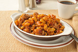 Chili macaroni with beef