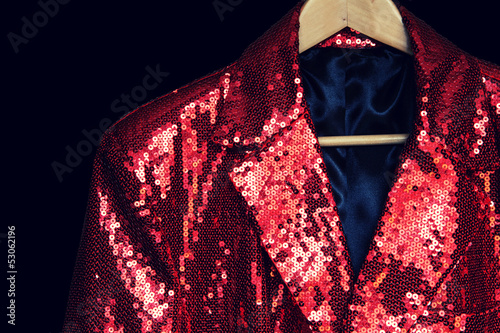 sequin entertainment jacket