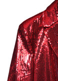 red entertainer jacket
