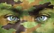 Soldier portrait close up