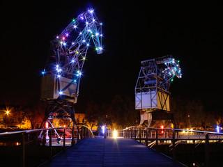 illuminations îlot Malraux à Strasbourg