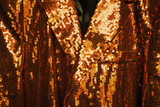 golden sequin jacket