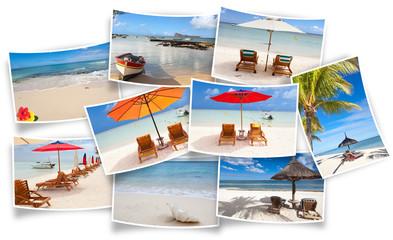 île Maurice, photos de vacances à la plage