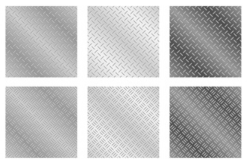Chequer Plate Metal Backgrounds