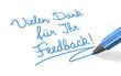 Stift- & Schriftserie: Vielen Dank für Ihr Feedback!