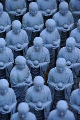 Jizo statue in Enoshima, Japan