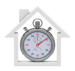 Zeit für eine Immobilie