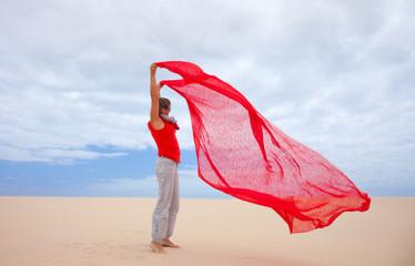 wind in the dunes