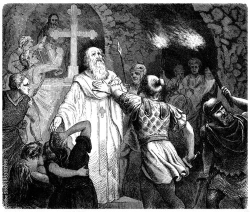 Ancient Rome : Vorbidden Mass in Catacombs