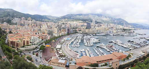 monte carlo city monaco french riviera
