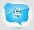 Bulle : Hashtag