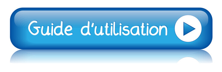 """Bouton Web """"GUIDE D'UTILISATION"""" (découvrir info mode d'emploi)"""