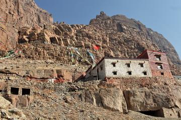 Chuku gompa (Buddhist monastery) Mount Kailash, Tibet