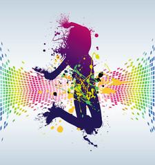 danse abstrait
