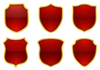 shields red