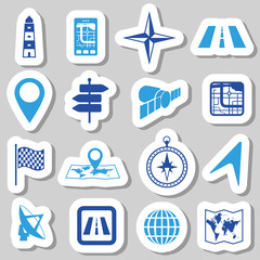 navigation stickers