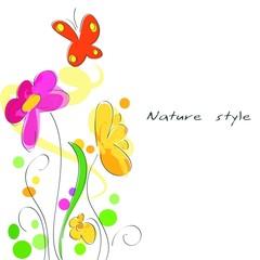 La natura come sfondo