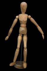 Wooden pose puppet (manikin)
