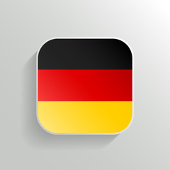 Vector Button - Germany Flag Icon
