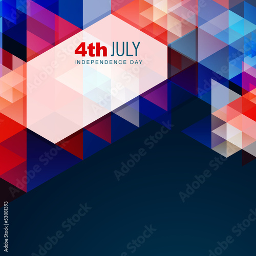 abstract american independence day