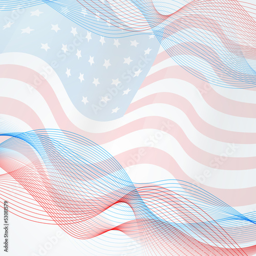 vector flag background
