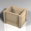 Kiste Holz NAtur B