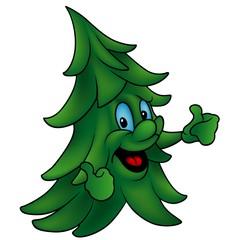 Coniferous Tree