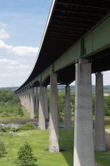 Autobahnbrücke über den Nord-Ostsee-Kanal