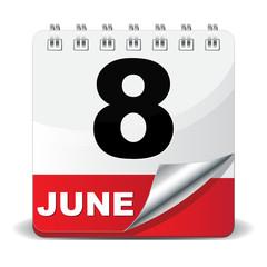 8 JUNE ICON