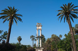 Monument to Columbus, Murillo gardens, Seville (Spain)