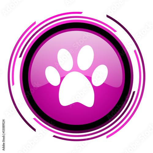 animal footprint icon