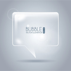 bubble icon square
