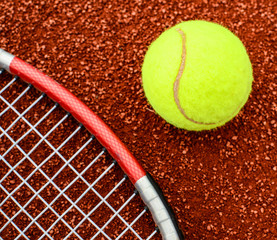 Learn tennis concept