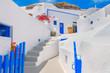 Obrazy na płótnie, fototapety, zdjęcia, fotoobrazy drukowane : Greece Santorini island in Cyclades, traditional view of white w