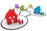 homes and families connected neighborhoods
