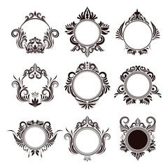 Circle Frame Ornamental