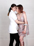 Nurse abusing position with teenage girl