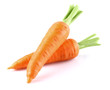 Sweet carrot in closeup - 53095132