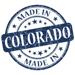 made in colorado blue stamp