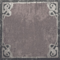 Elegant vintage background in silver tones, grunge texture