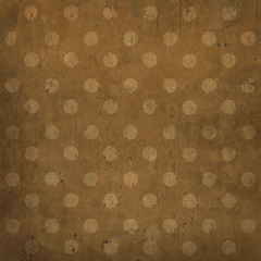 Elegant vintage background, polka dots, grunge texture
