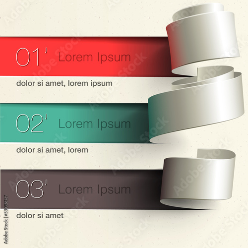 Modern design infographic template, vector Eps10 illustration.