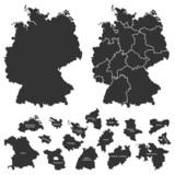 Deutschlandkarte (IV)