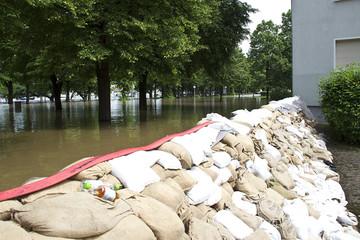 Dresden Hochwasser Pegel 8,76m