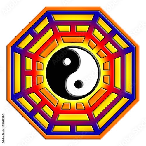 Pakua, Bagua, Feng Shui Symbol, Kompass
