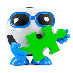 3d Football solves the puzzle