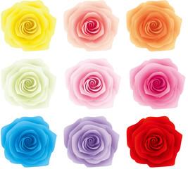 薔薇 9色
