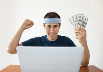online betting dollar gaining