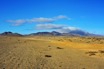Jandia Natural Park in Fuerteventura, Canary Islands, Spain