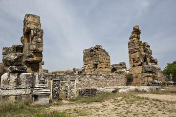 Hadrian bath of Aphrodisias in Aydin